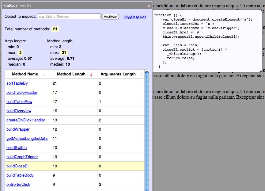 Javascript Refactoring
